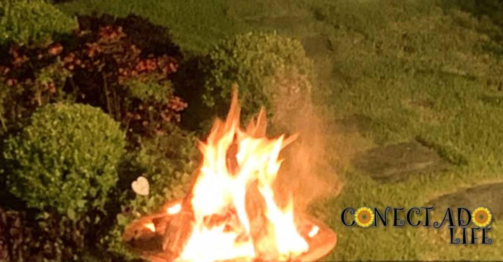 Meditação ao fogo