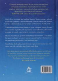 Contra capa do livro Amor pelas coisas imperfeitas: Como aceitar a si mesmo num mundo em busca de perfeição   Haemin Sunim