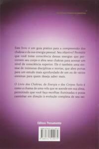 O Livro dos Chakras da Energia e dos Corpos Sutis: O Livro dos Chakras da Energia e dos Corpos Sutis | Joan P. Miller | Foto Contracapa